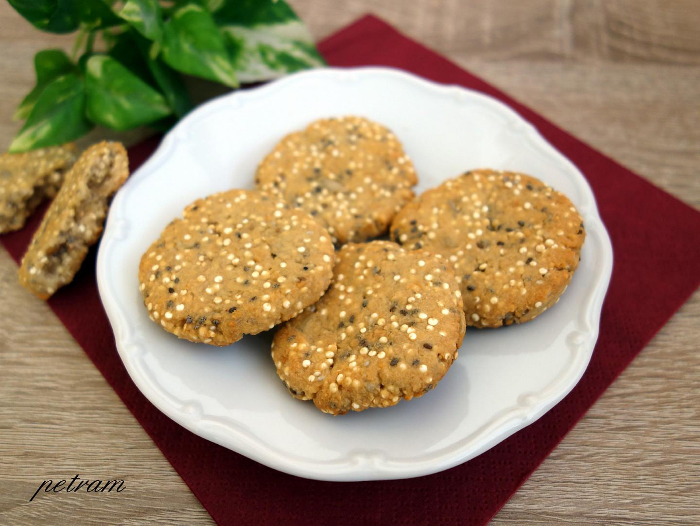 Arašídové sušenky s quinoou (bez lepku, mléka a vajec)