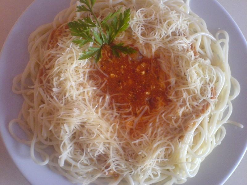 Boloňské špagety po domácku