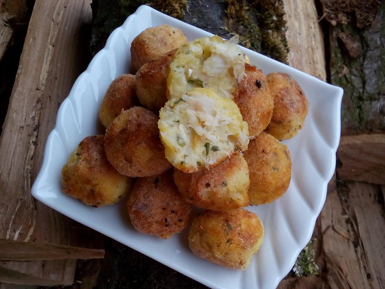 Bramborovo-rybí krokety