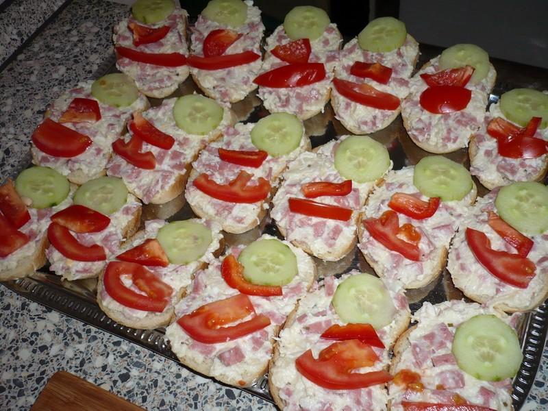 Celerové chlebíčky
