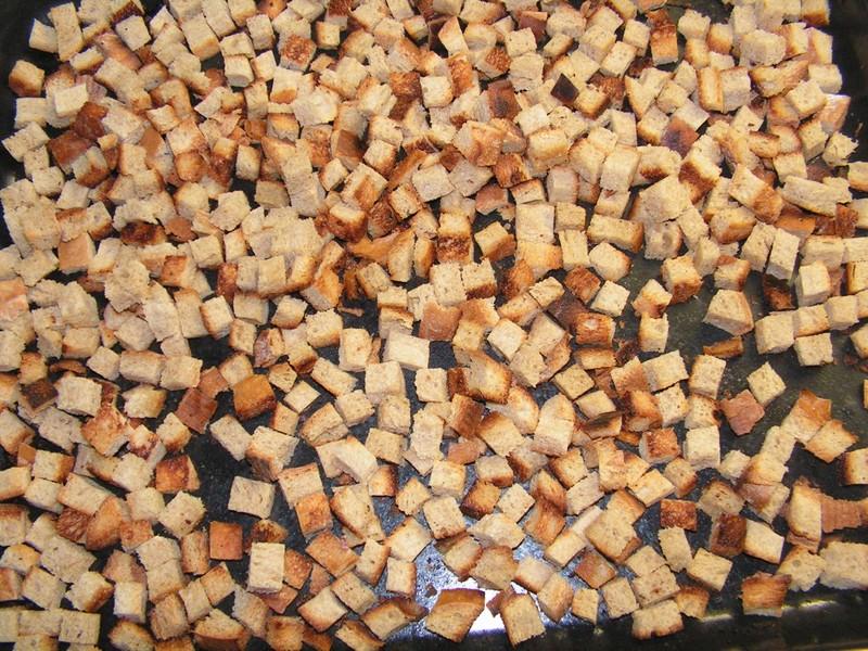 Chlebové krutony