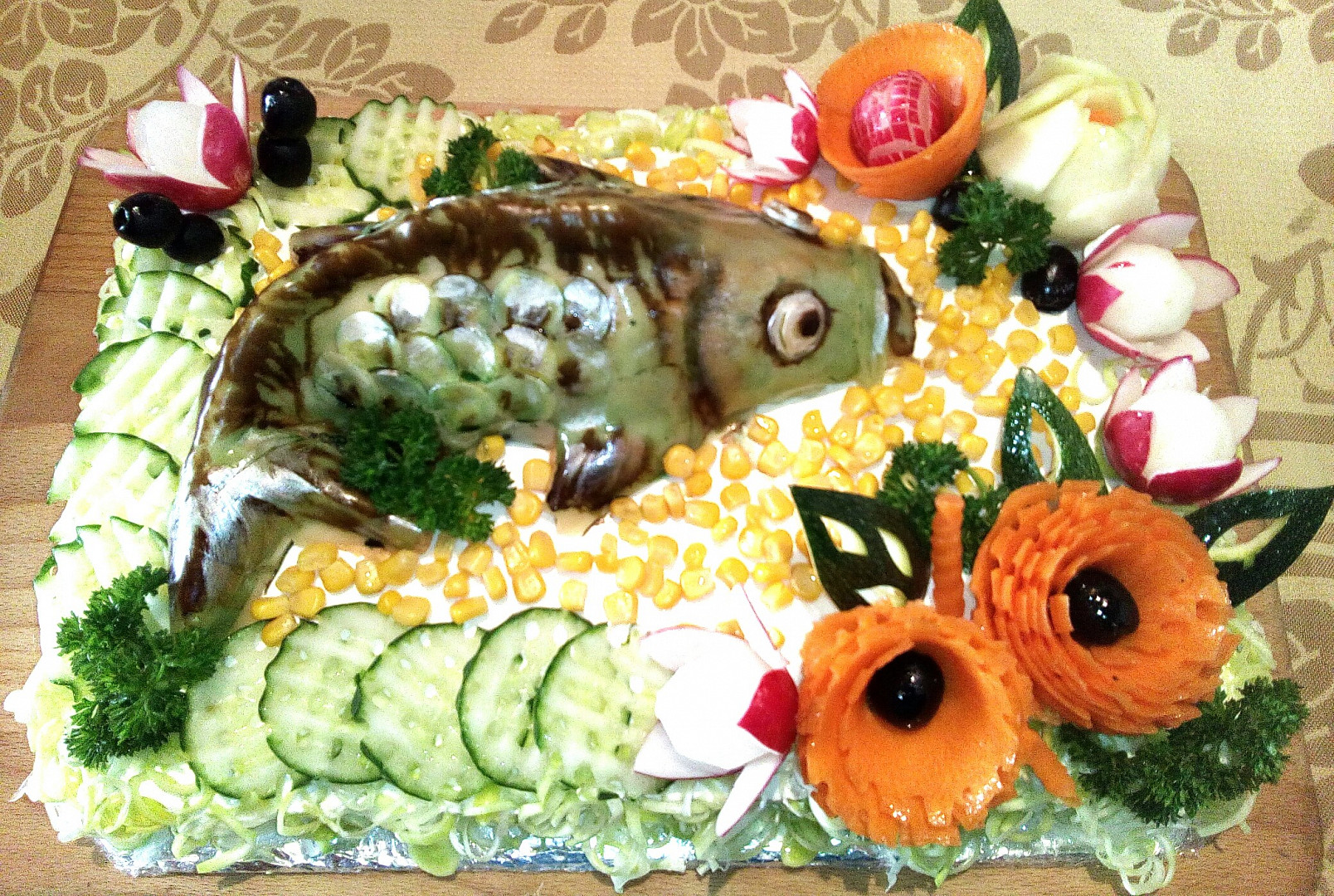 Chlebový dort KAPR