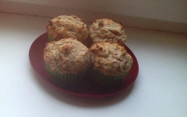 Citronové muffiny z žitné mouky - zdravé a dietní