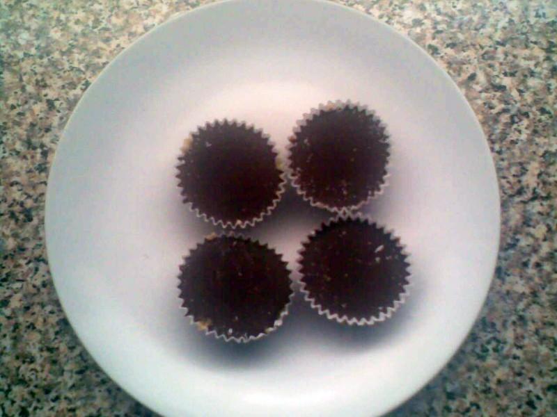 Čokoládové košíčky 1