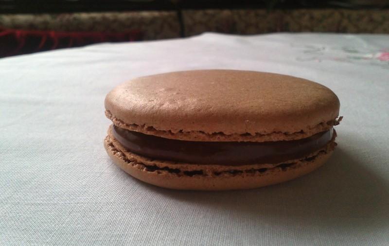 Čokoládové makronky - Macarons au chocolat