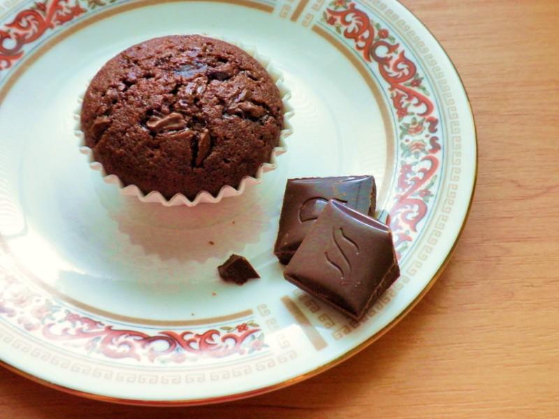 Čokoládové mini muffinky