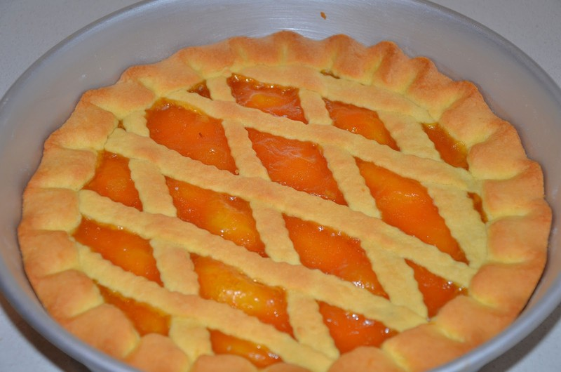 Crostata s marmeládou nebo ovocem