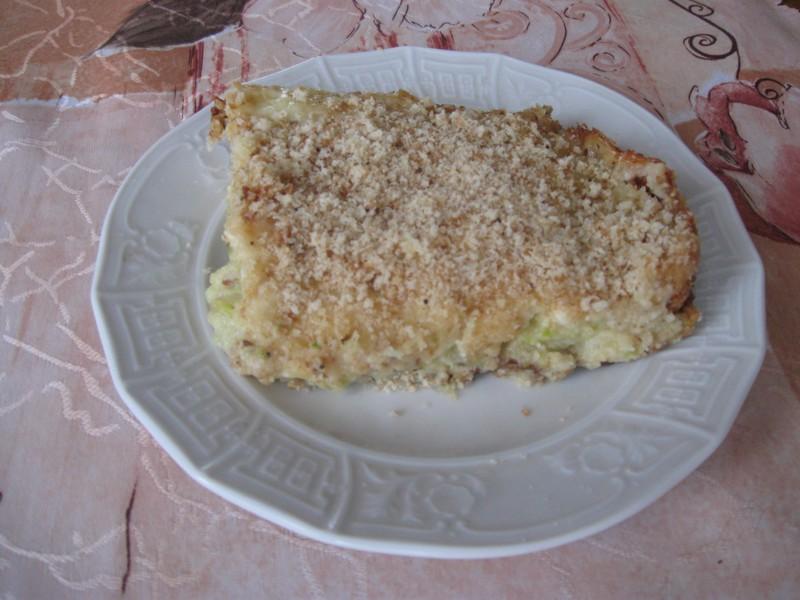Cuketový nákyp se sýrem