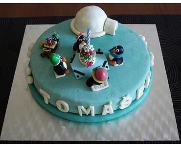 Dětský dort pro kamarádku (Inpsirace)