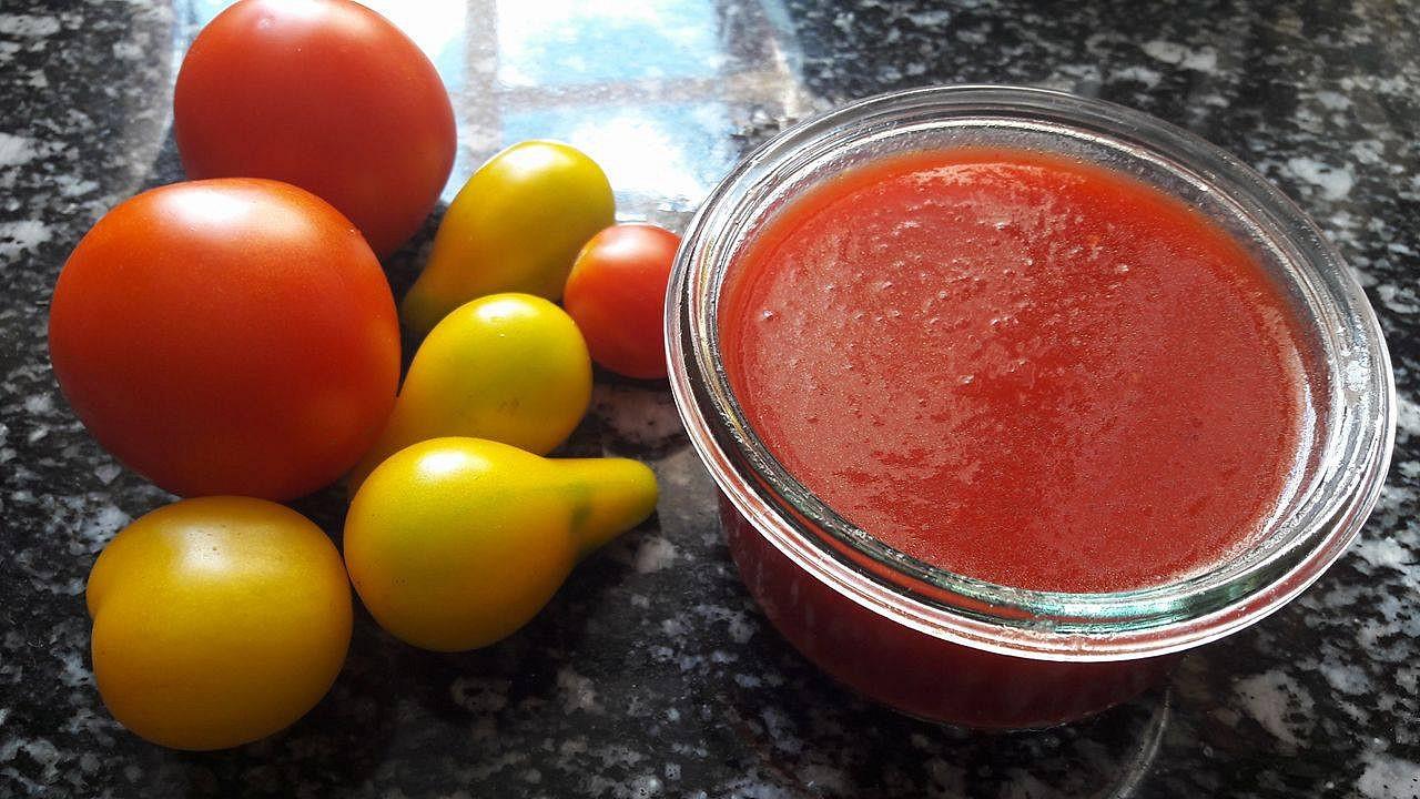 Domácí kečup s medem a jablečným octem
