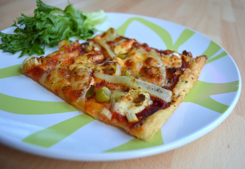 Domácí papriková pizza