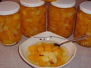 Dýně s ananasovou šťávou