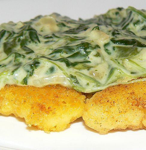 Ideální na zelený čtvrtek Polentové nočky se sýrovým špenátem