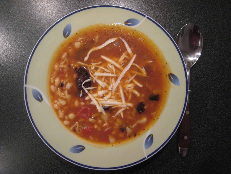 Italská fozolová polévka
