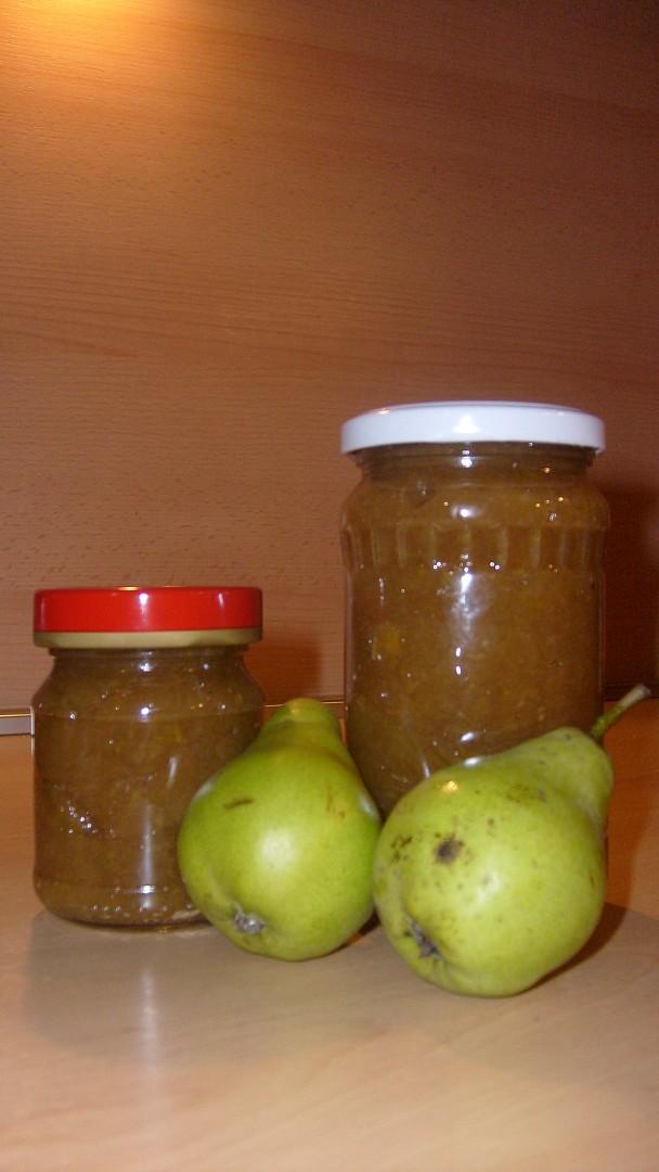 Jablková marmeláda s hruškami