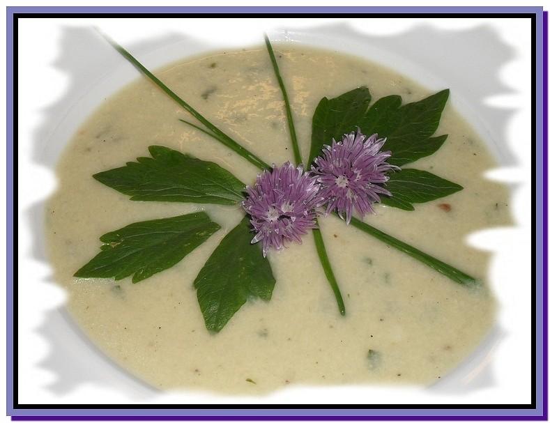 Jemná kedlubnová polévka