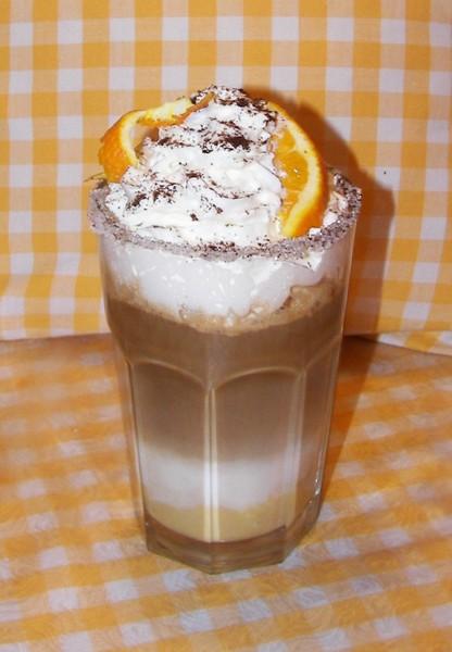 Káva s chutí pomeranče