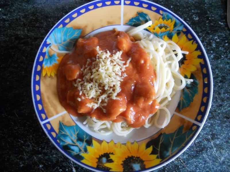 Kečupová omáčka na špagety