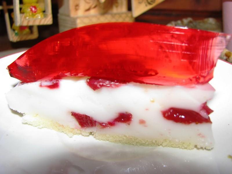 Kefírový dortík