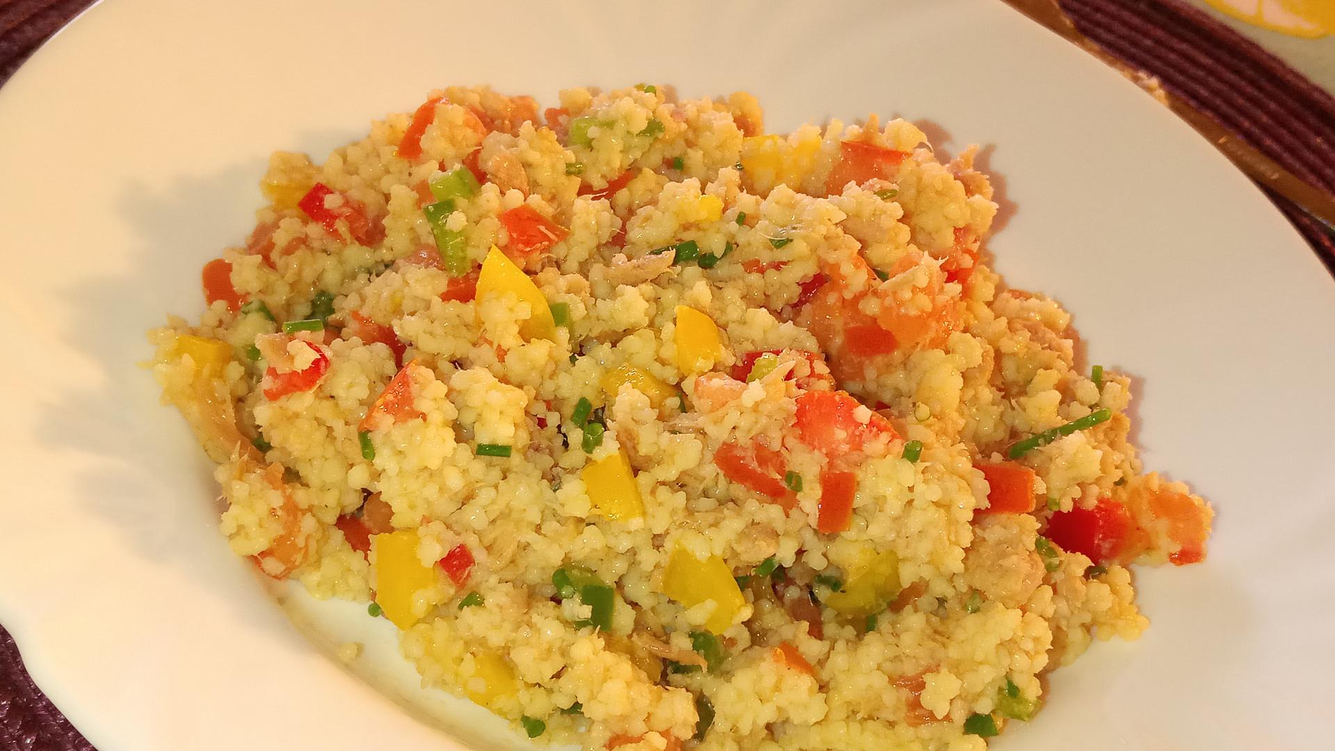 Klasický kuskusový salát