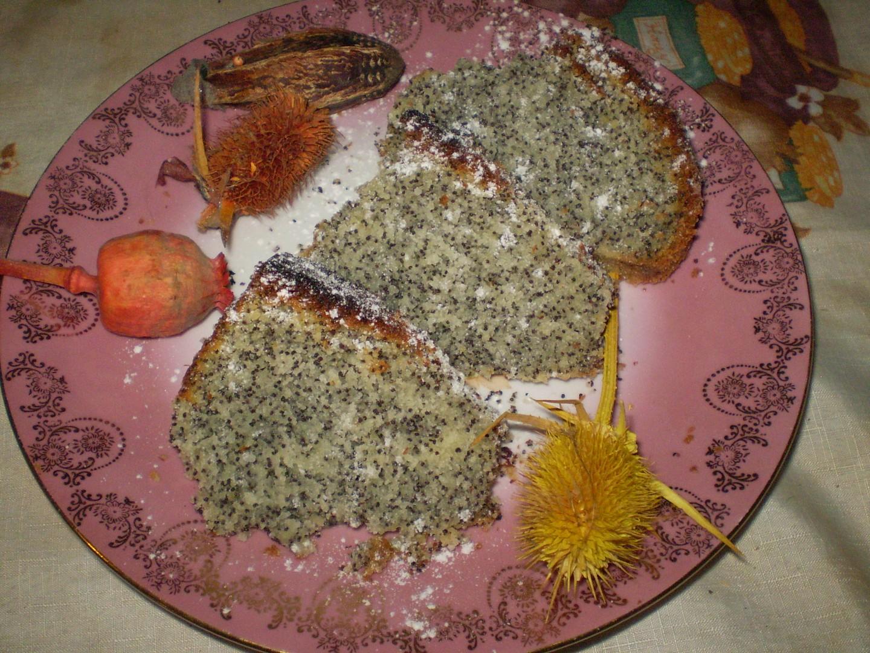 Kokosovo-maková bábovka (větší)