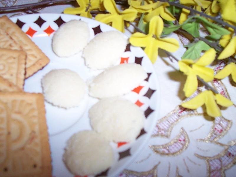 Kokosovo-medové sušenky