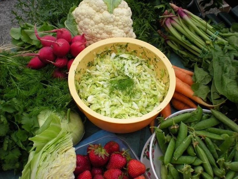 Křehký zelný salát od Jindřišky