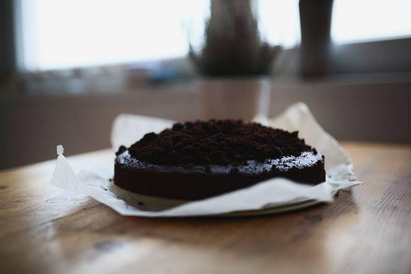 Krtkův dort (vegan)