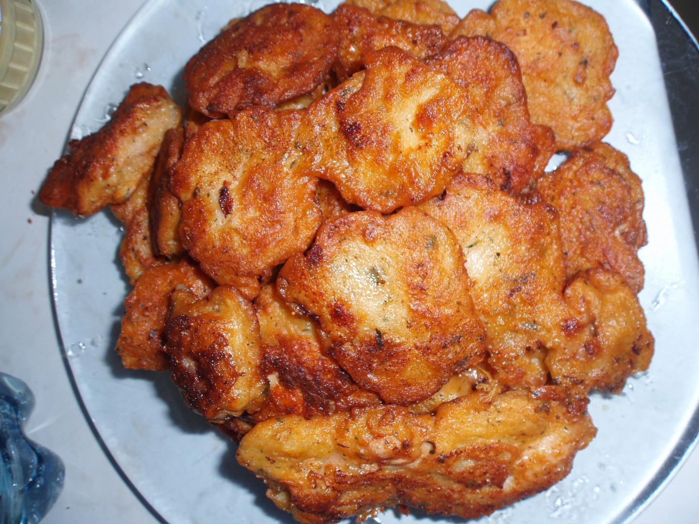 Kuřecí kousky v bramborovém těstíčku
