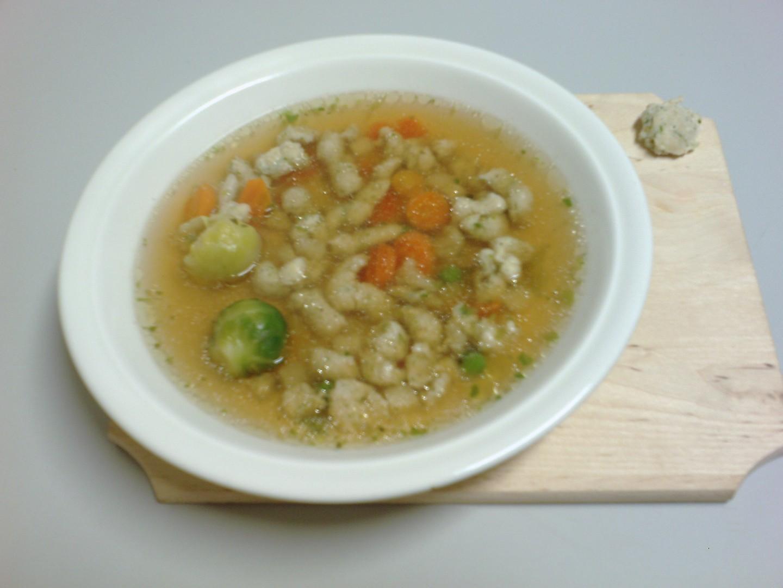 Kuřecí zavářka do polévky