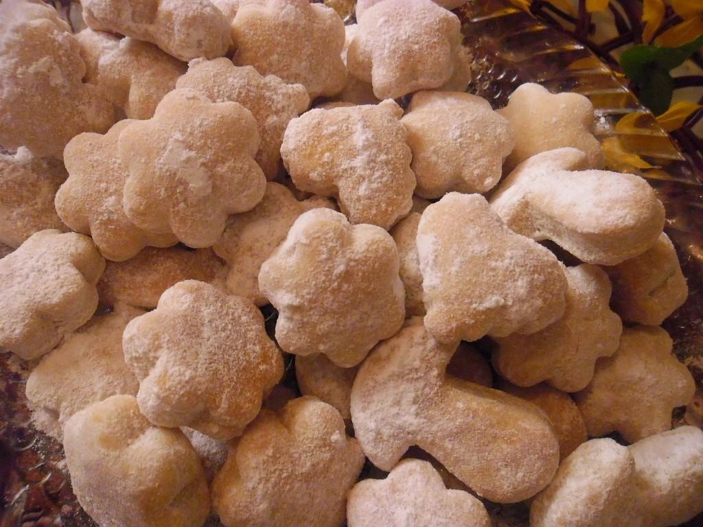 Kvasnicové (drožďové) cukroví