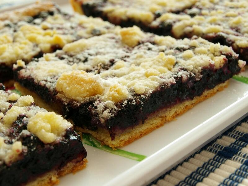 Kynutý borůvkový koláč od Tejajky - CRISP