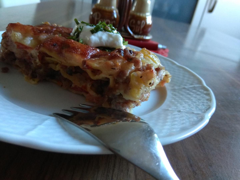 Lasagne z domácího těsta