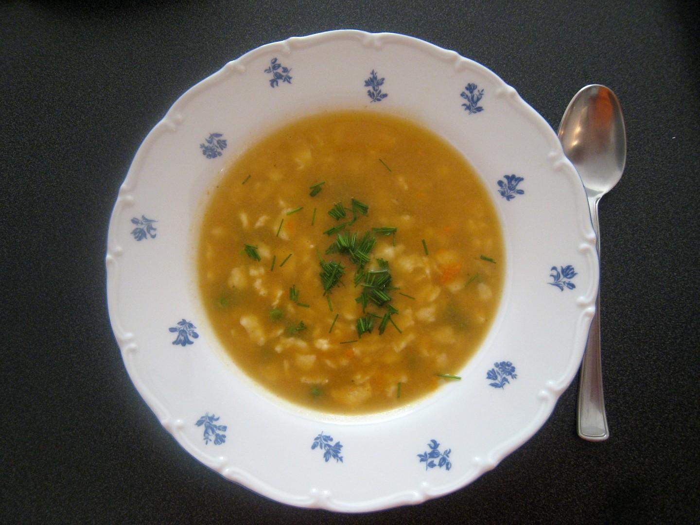 Maďarská hrášková polévka