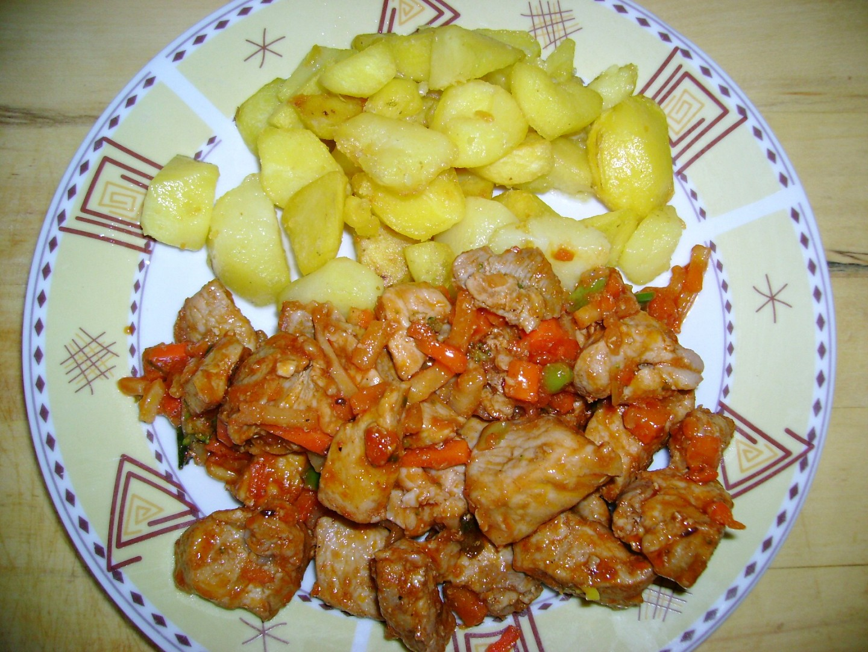 Maso s kečupem