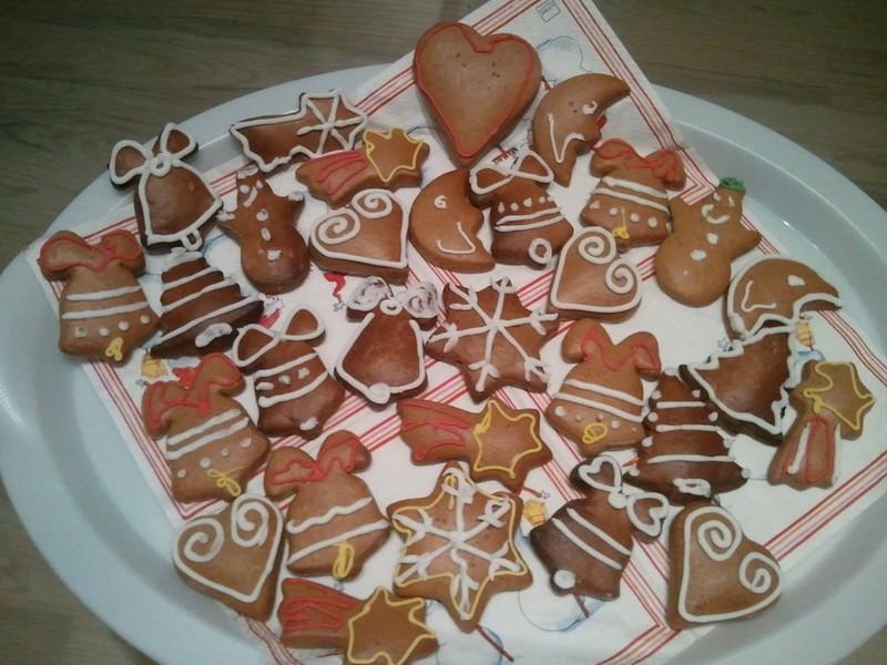 Medové vánoční perníčky