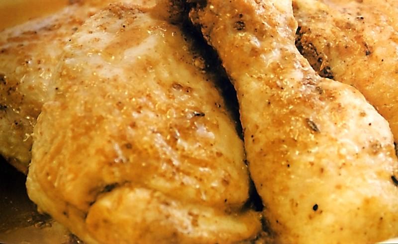 Mexické kuřecí z páry