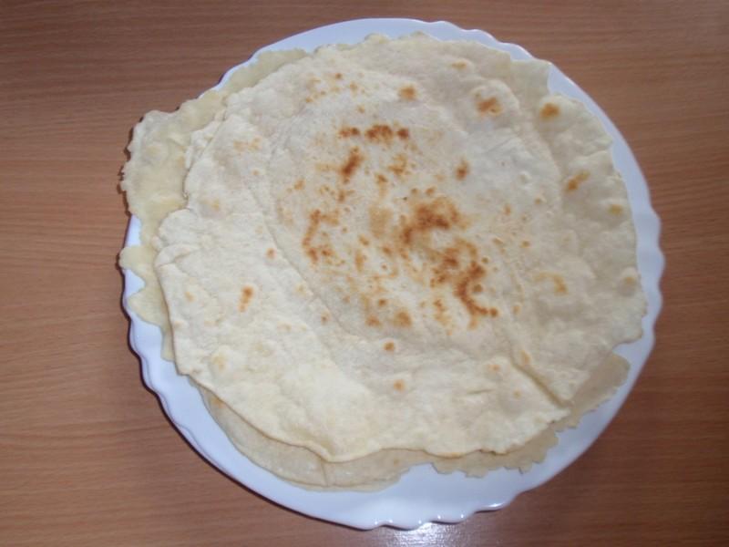 Mexické pšeničné tortilly