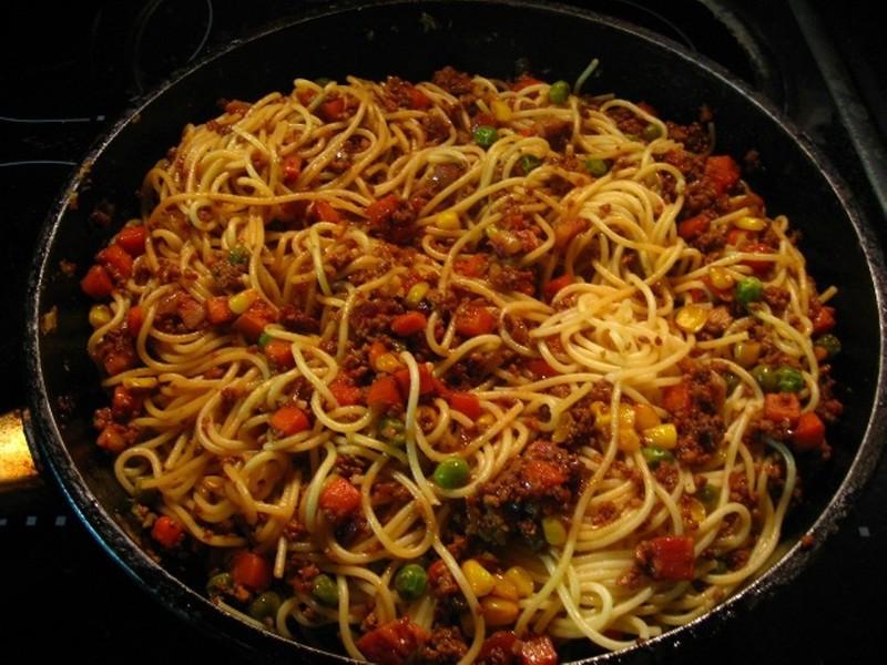 Mexické špagety