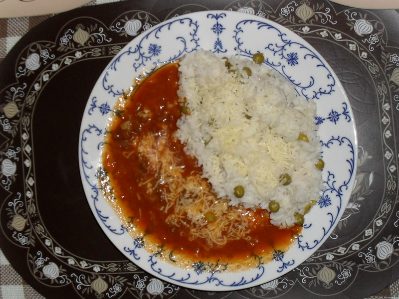 Mexický guláš s hráškem