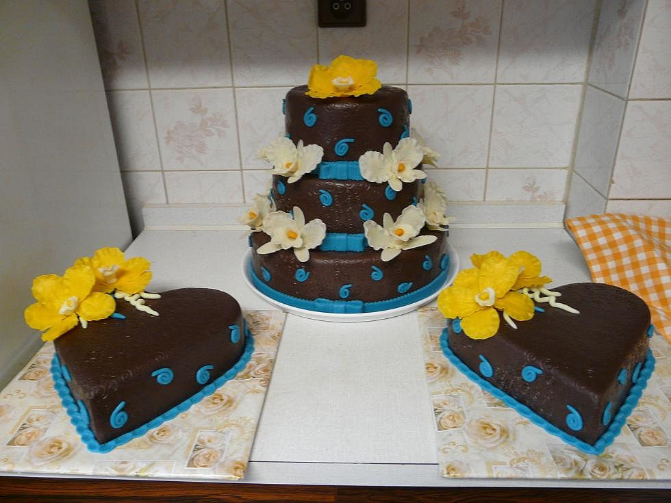 Moje první svatební dorty