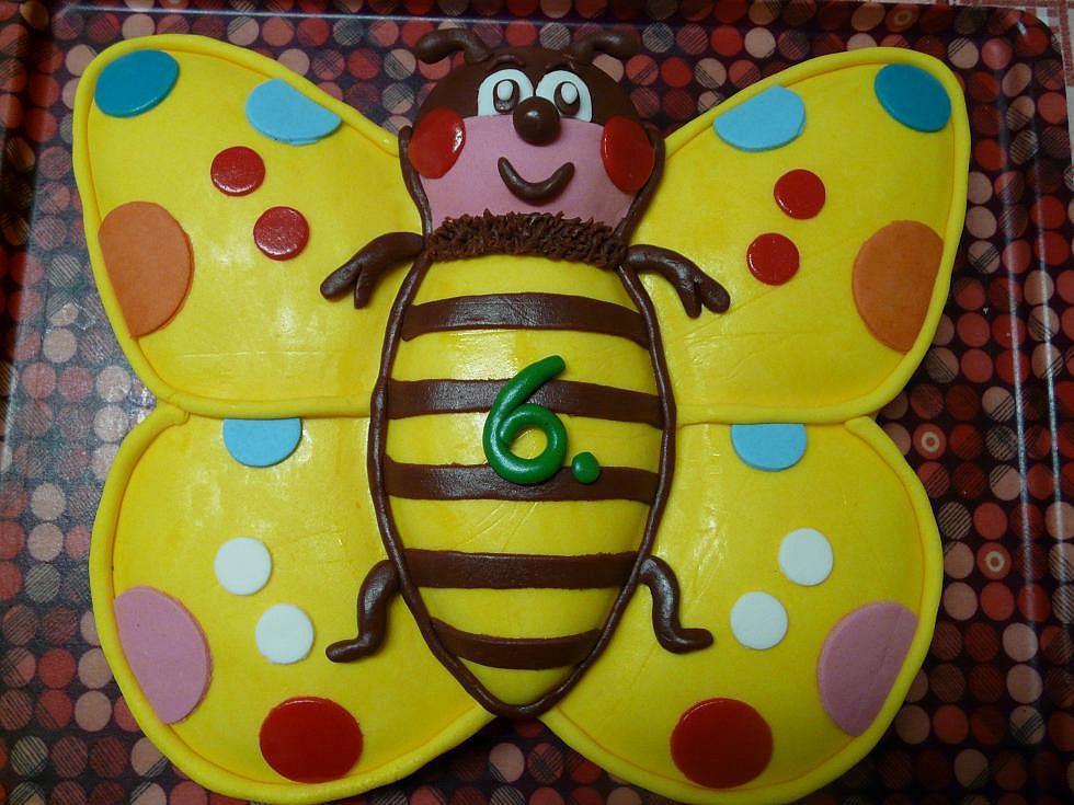 Motýl pro Adélku