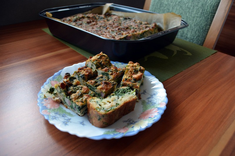 Nádivka ze špenátových listů