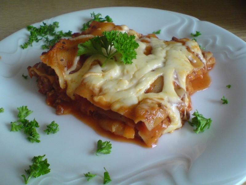 Odlehčené lasagne
