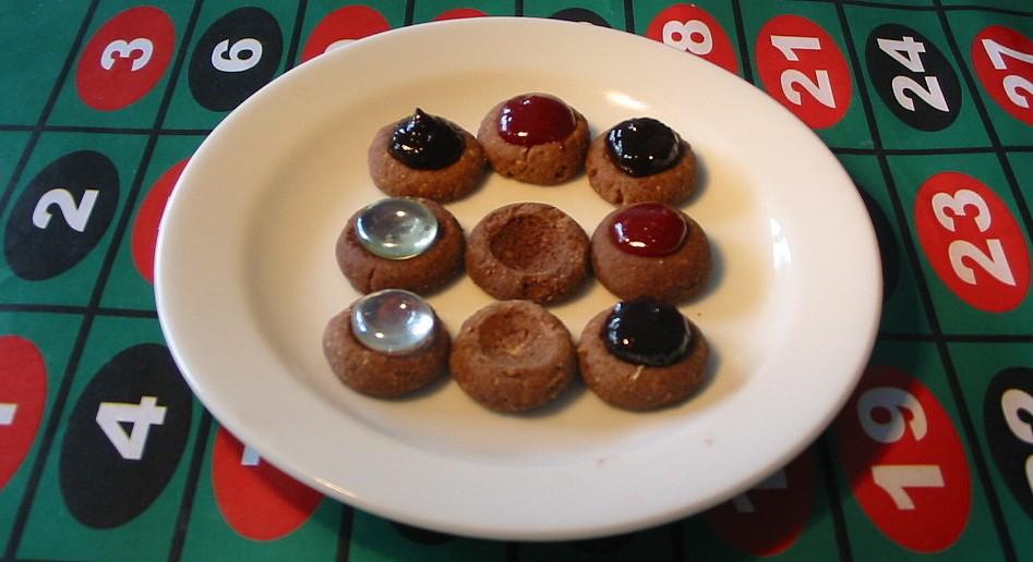Ořechové sádláky s marmeládou