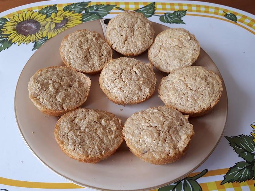 Ovesné muffinky s jablíčky - pro nejmenší