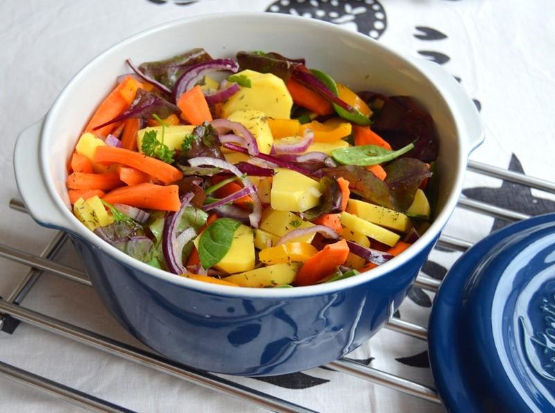 Pečená zelenina z trouby s tymiánem