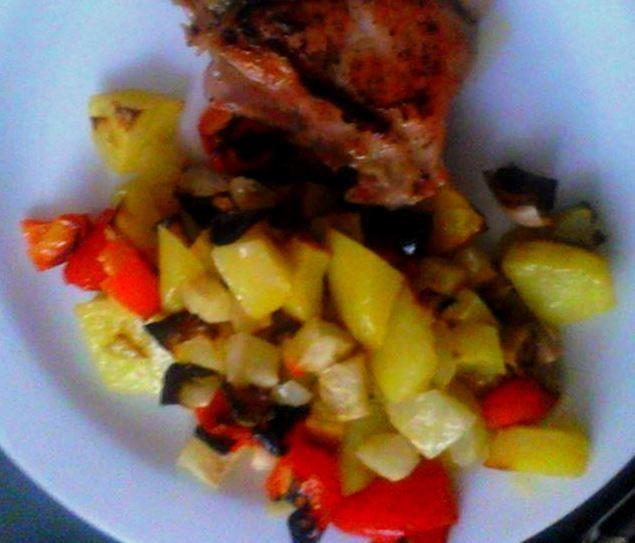 Pečená zeleninová příloha