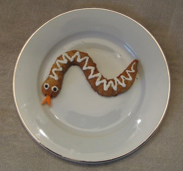 Pečená zmije