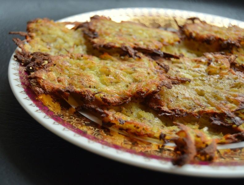Pečené bramboráky bez mouky